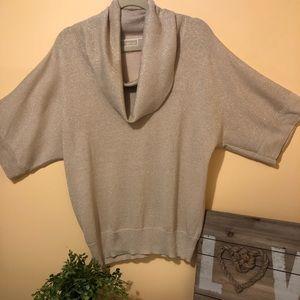 Michael Kors Gold Glitter Lightweight sweater